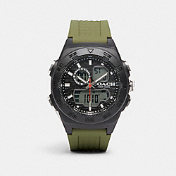 C100 WATCH, 45MM - GREEN - COACH W1685