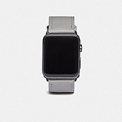 APPLE WATCH® STRAP, 44MM - DOVE GREY - COACH W1704