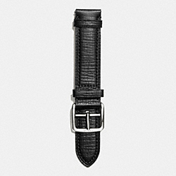 COACH BLCKER TXTRE LTH STP;BLACK;M/WATCHES - BLACK - W4003