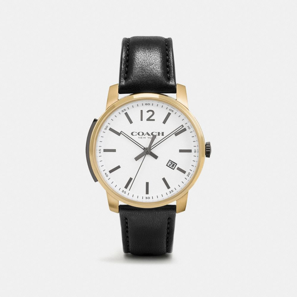 Coach Bleecker Slim Watch