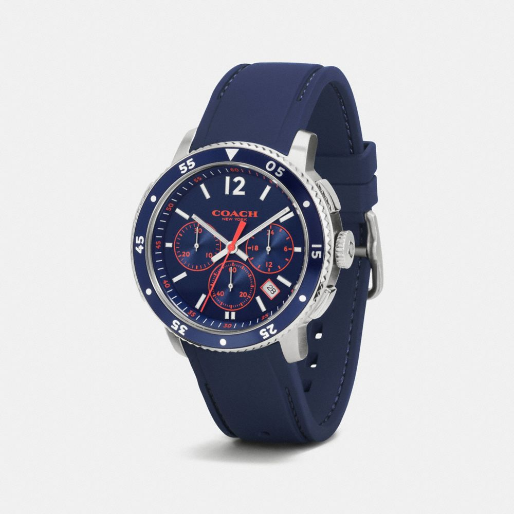 Coach Bleecker Sport Chrono Watch Alternate View 1