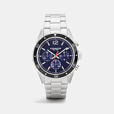 SULLIVAN SPORT CHRONO AL BEZE STAINLESS STEEL STRAP WATCH