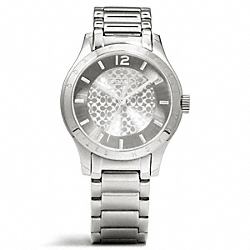 MADDY STAINLESS STEEL BRACELET WATCH COACH W6005