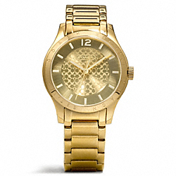 COACH MADDY GOLD PLATED BRACELET WATCH - ONE COLOR - W6006