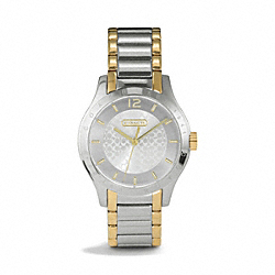 COACH MADDY BRACELET WATCH - TWO TONE - W6009