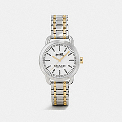 COACH LEX TWO TONE BRACELET WATCH - TWO TONE - W6050