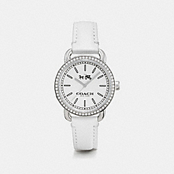 COACH LEX STAINLESS STEEL STRAP WATCH - WHITE - W6051