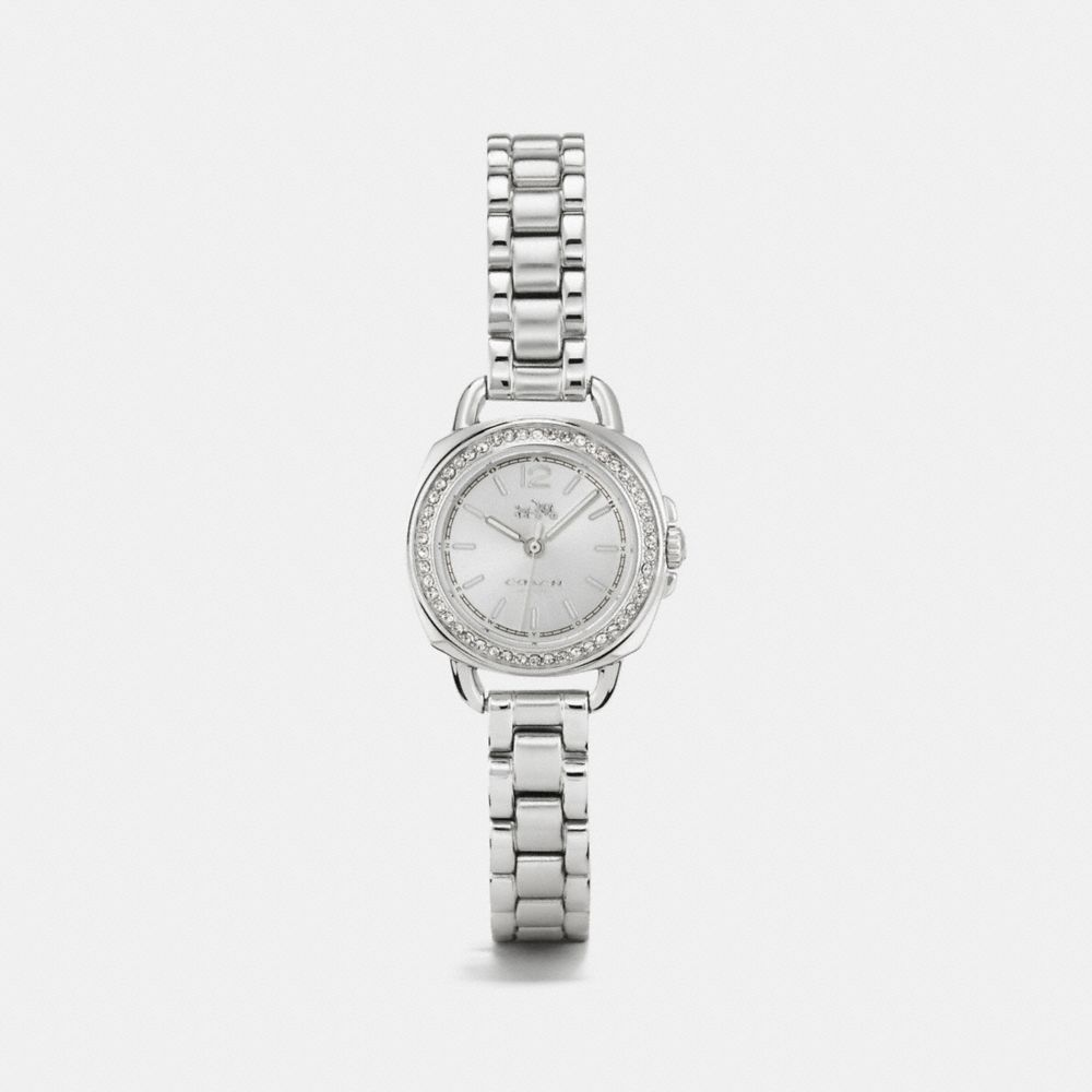 Tatum Stainless Steel Sunray Dial Set Bracelet Watch