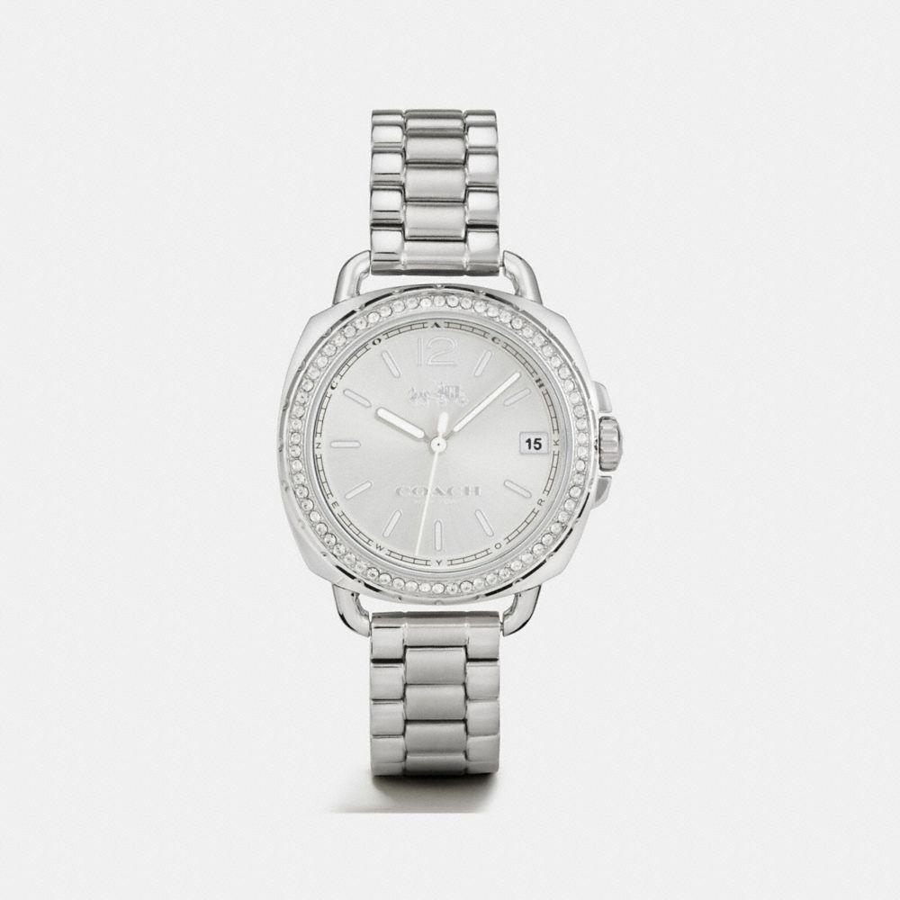 Tatum Stainless Steel Sunray Dial Set Bracelet Watch