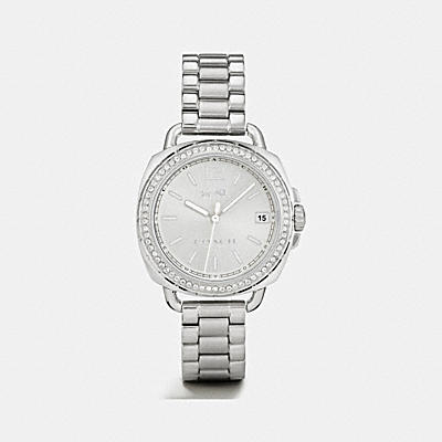 TATUM 銀色手錶