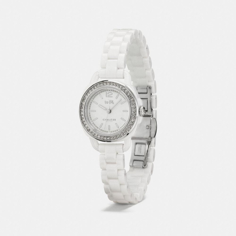 Tatum Ceramic Set Bracelet Watch - Alternate View A1