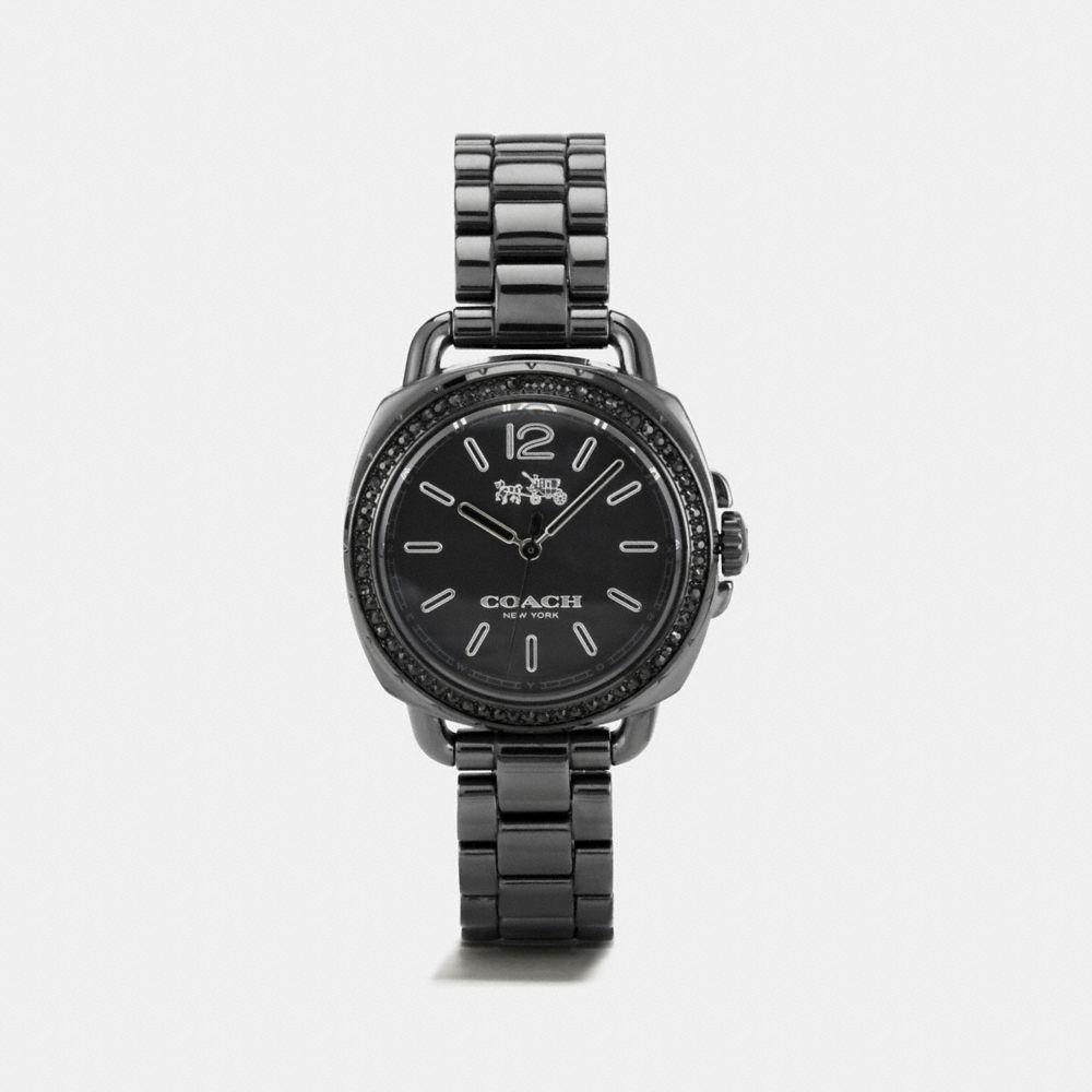 Tatum Ceramic Set Bracelet Watch
