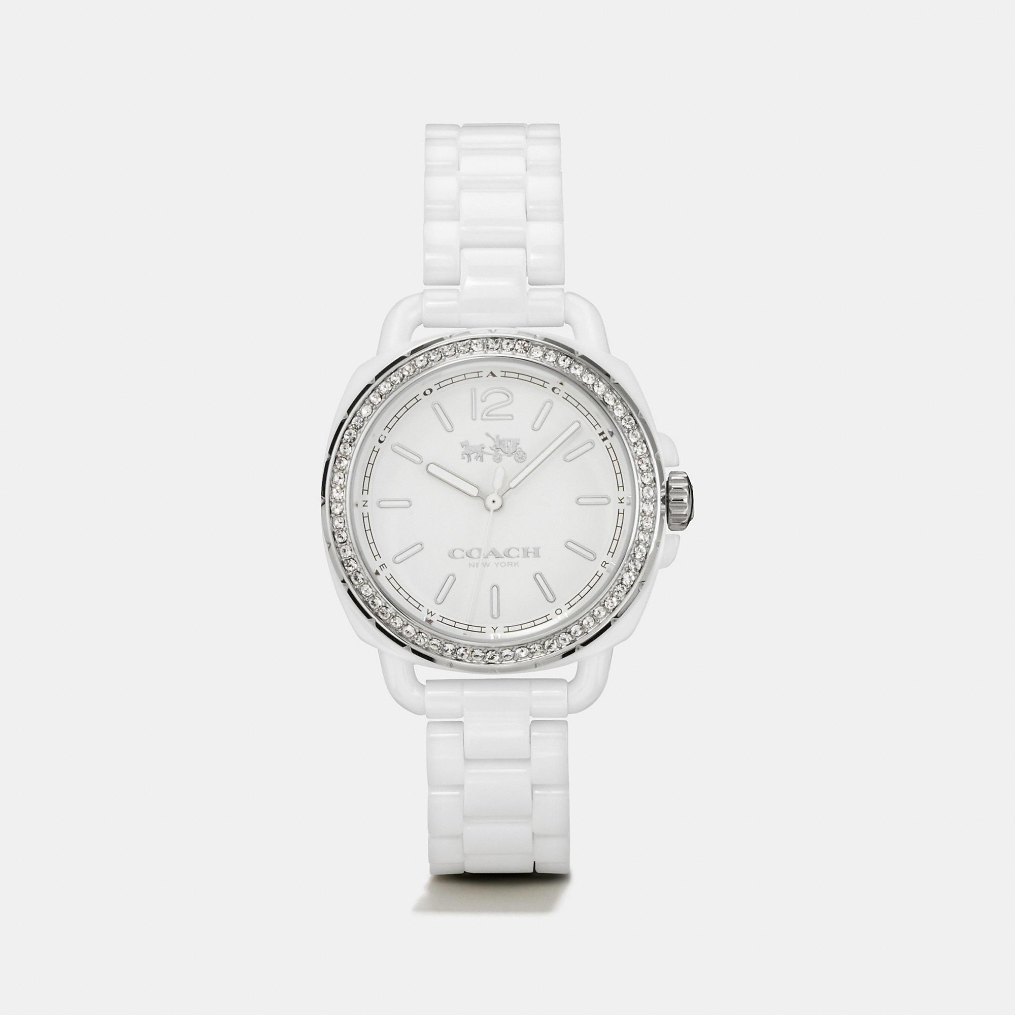 Coach Tatum Ceramic Set Bracelet Watch