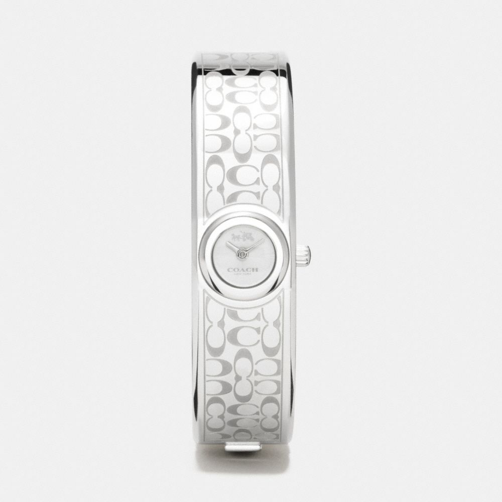 SCOUT STAINLESS STEEL SUNRAY DIAL SIGNATURE C BANGLE WATCH - Alternate View