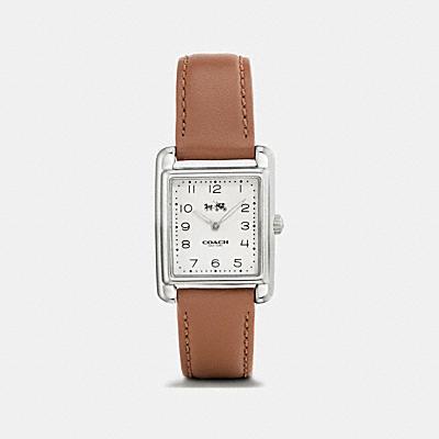 PAGE不鏽鋼真皮皮革錶