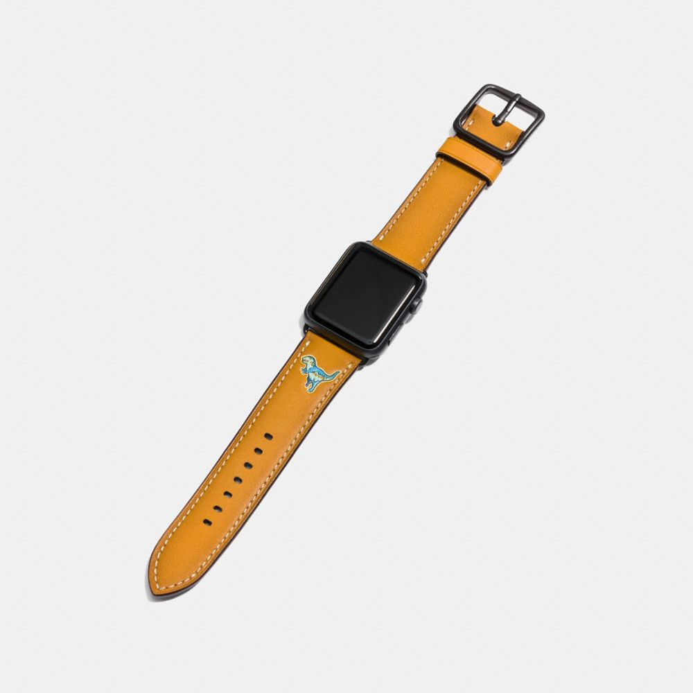 Coach Apple Watch® Strap With Rexy Alternate View 1