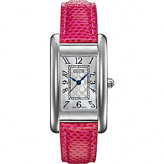 Coach Official Site - LEXINGTON BREAST CANCER AWARENESS WATCH