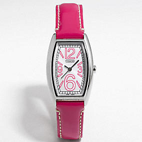 Coach :: Francine Patent BCRF Watch