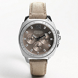 COACH BOYFRIEND STAINLESS STEEL STRAP WATCH - ONE COLOR - W837