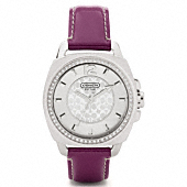 COACH BOYFRIEND STRAP WATCH