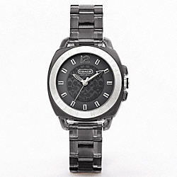 COACH BOYFRIEND PLASTIC BRACELET WATCH - ONE COLOR - W924