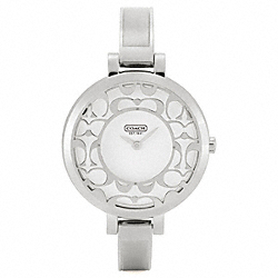 COACH SABRINA STAINLESS STEEL BRACELET WATCH - ONE COLOR - W956