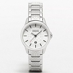 COACH COACH CLASSIC SIGNATURE SMALL BRACELET WATCH - ONE COLOR - W965