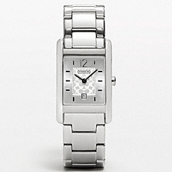 COACH CARLISLE STAINLESS STEEL BRACELET - ONE COLOR - W967