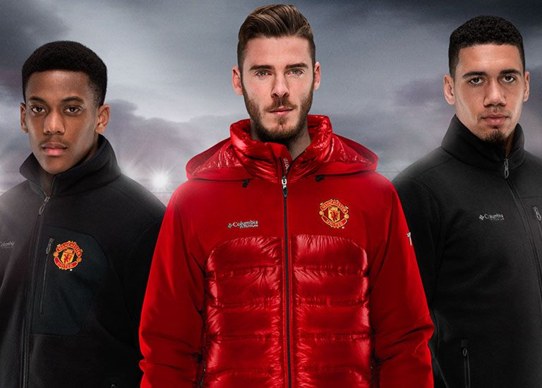 We are proud to present our special Manchester United outerwear line for club fans featuring our best fabrics & technologies