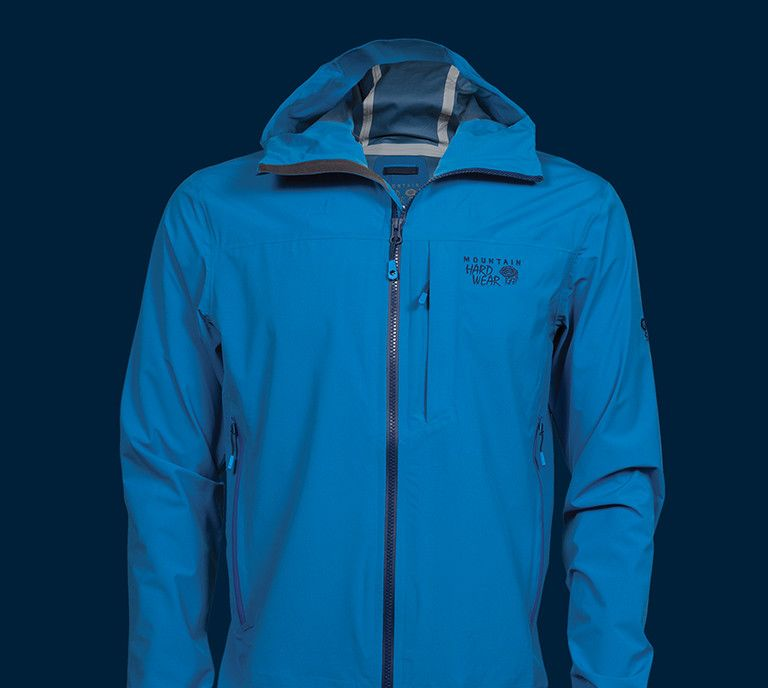 Image of Stretch Ozonic Jacket on dark blue background