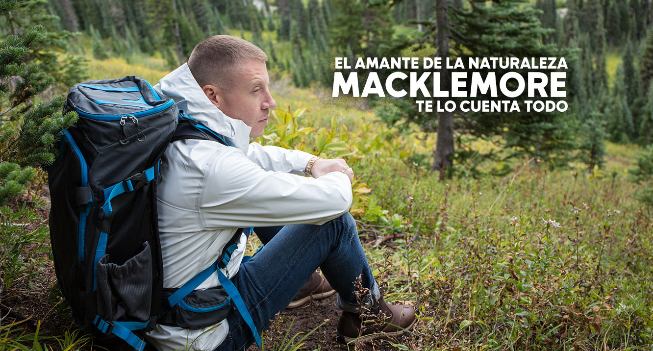 Still of Macklemore in nature