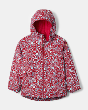 Flower Flakes Jacket for kids.