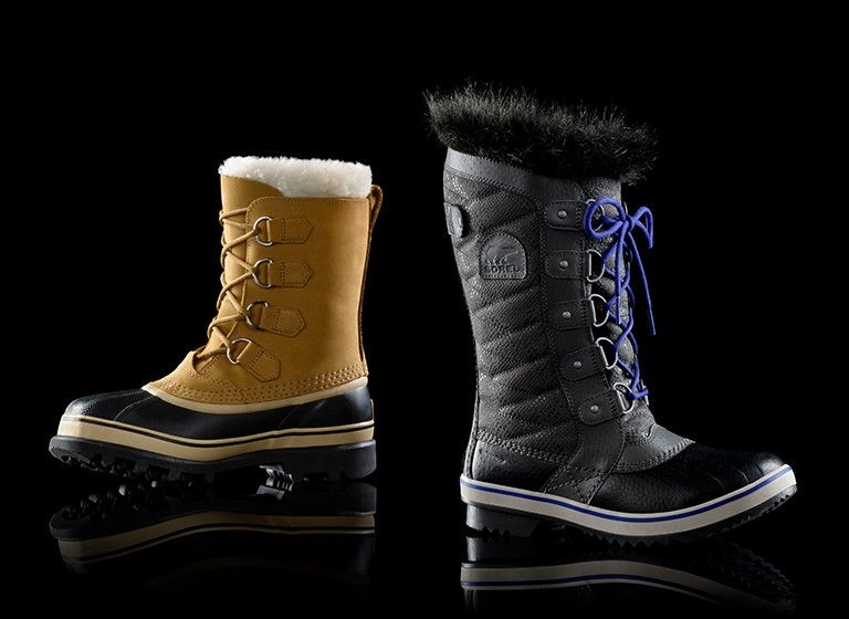 Image of the Caibou and the Tifino II boots