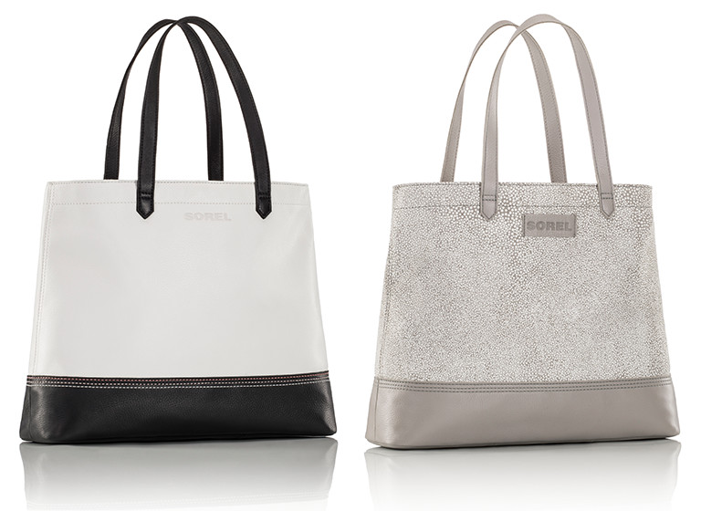 Two spring totes.