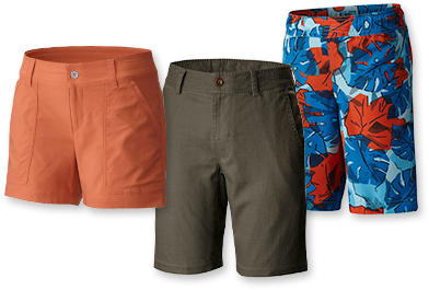 Shorts for men, women and kids