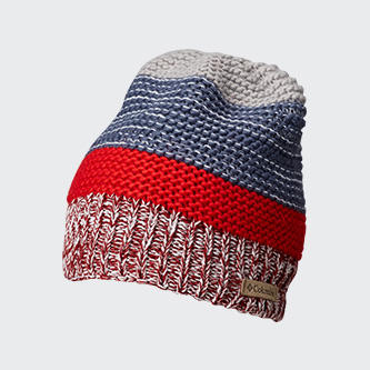 A Columbia stocking hat.