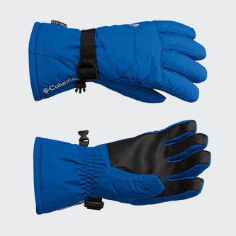 A pair of Columbia ski gloves.