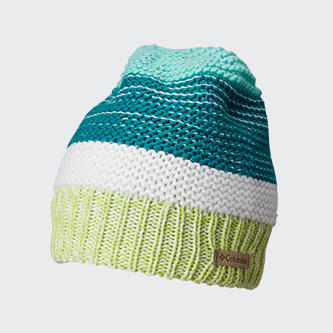 A Columbia multi-colored stocking hat.