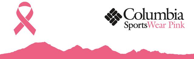 Columbia SportsWear Pink logo.
