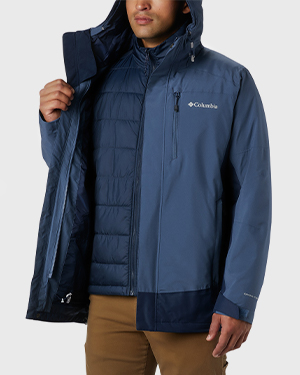 Lhotse interchange jacket for men.