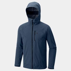 A blue Mountain Hardwear jacket.