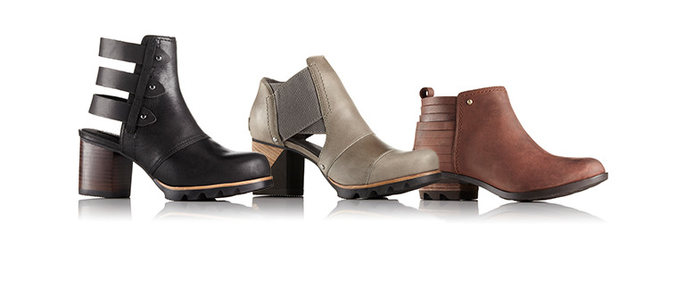 Three spring/summer booties.