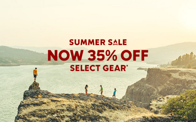 SUMMER SALE NOW 35% OFF SELECT GEAR