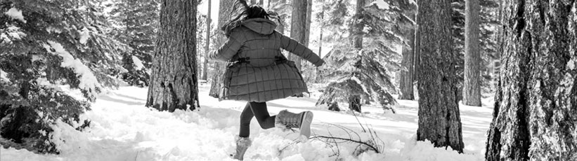 Various black and white images of young women in boots in urban and outdoor settings, etc.