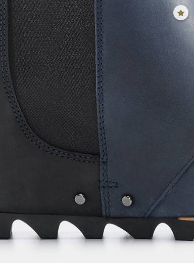 A close-up of the traction outsole.