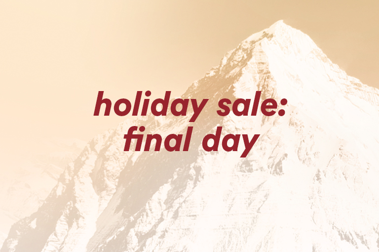 holiday sale: final day