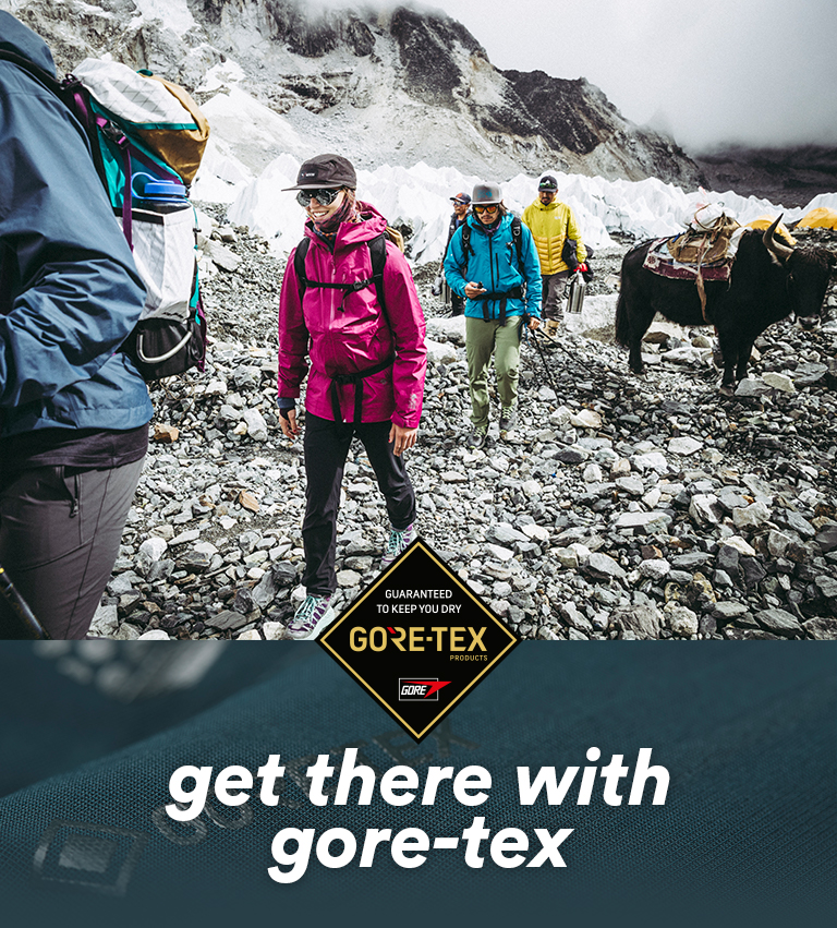 get there with GORE-TEX