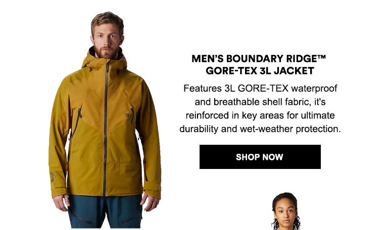 Men's Boundary Ridge� GORE-TEX 3L Jacket