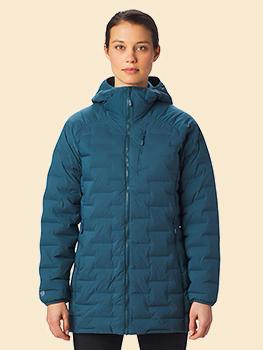 Women�s Super/DS� Stretchdown Hooded Jacket