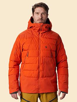 Men�s Direct North� GORE-TEX Windstopper� Down Jacket